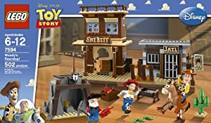 LEGO 7594 Toy Story Woody's Roundup