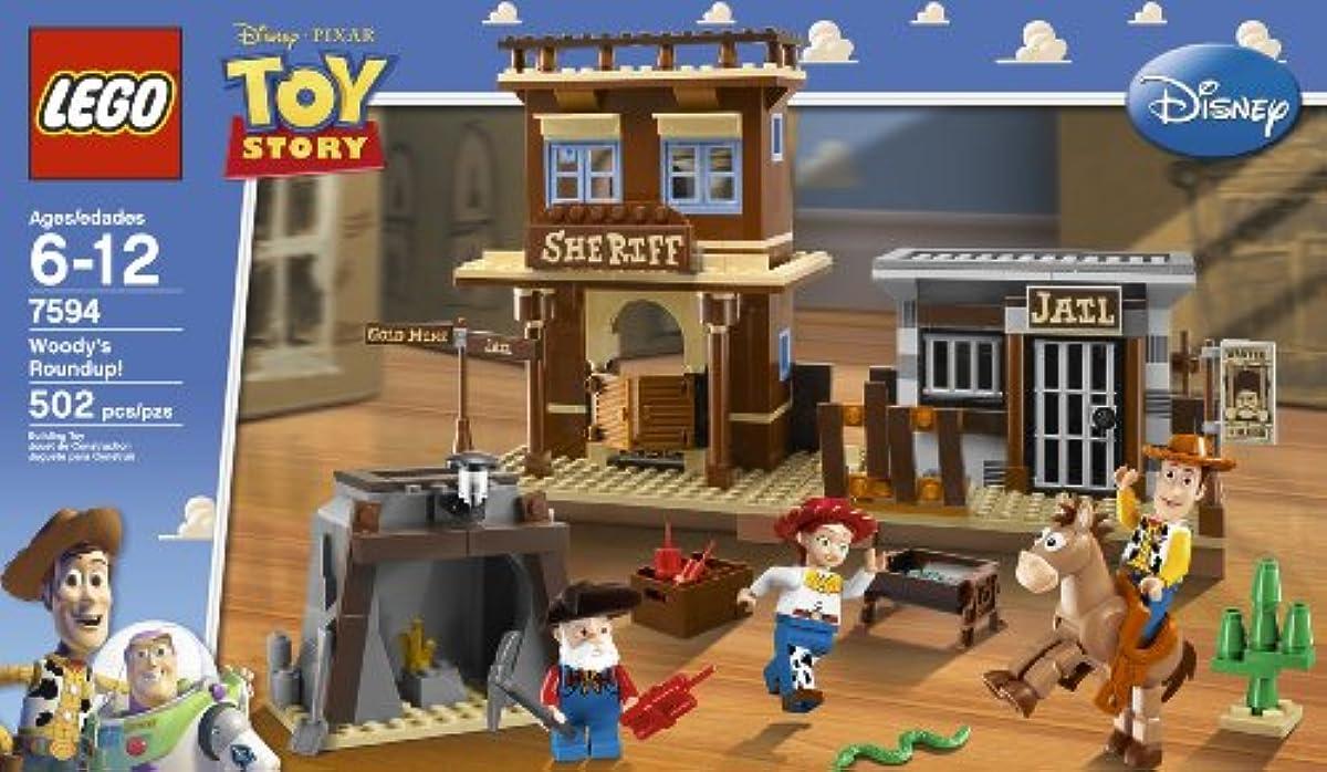 [해외] 레고 토이 스토리 우디가 있음 탓 #지 않겠 와 # 7594 LEGO WOODY'S ROUNDUP!