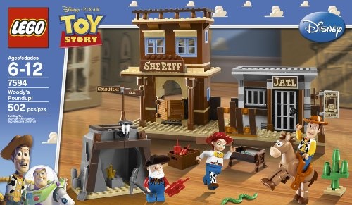 LEGO Toy Story Woody's Round Up (7594) Amazon.com