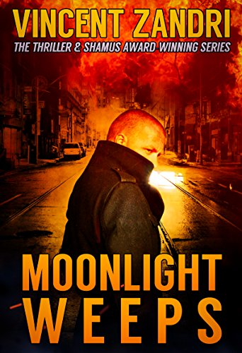Wry humor, bullets, car chases, and Scarface references… A fast-paced, grizzly thriller that delivers non-stop action:  Moonlight Weeps: (A Dick Moonlight PI Thriller Book 8) by bestselling author Vincent Zandri