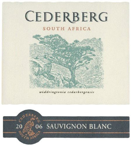 2006 Cederberg South African Sauvignon Blanc 750 Ml