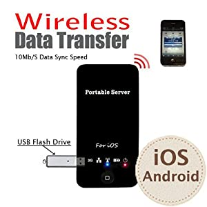 3G Wireless Router Card Reader Data Transmitter for Products with IOS System such as iphone ipad ios laptop etc.