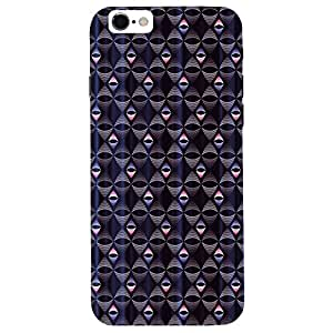Navy Blue Design - Mobile Back Case Cover For Apple Iphone 6S