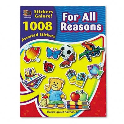 BUY NOW DIRECT -Teacher Created Resources Sticker Books-PT# BND- USTCR4226