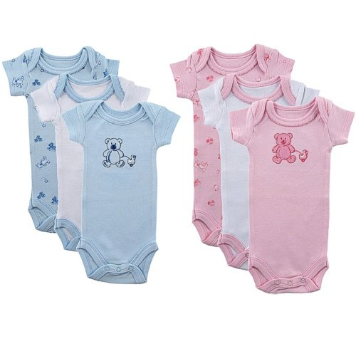 Solid Color Baby Onesies front-1033017