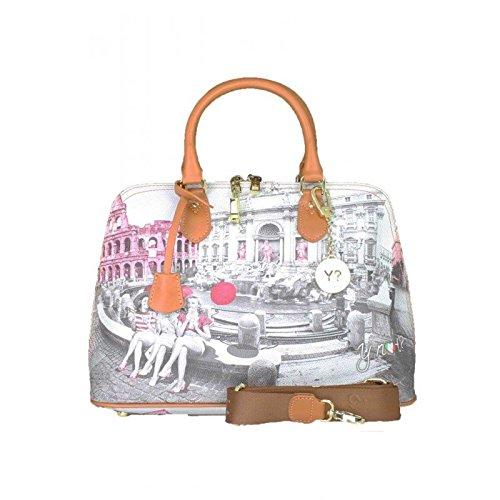 Borsa donna Y Not mod. Bugatti stampa Roma Pink Girls - F325