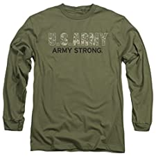 US Army Army Strong Camo Long Sleeve T-shirt