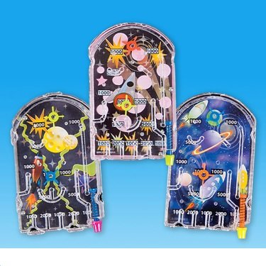 Miniature Pinball Game (Package of 12) - 1