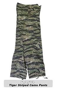 Tiger Stripe Camo BDU Pants Large - paintball apparel