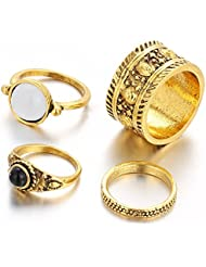 Hot And Bold Enthralling Gold Plated Vintage Look Trendy Midi Finger Ring For Women & Girls. Free Size. Designer...