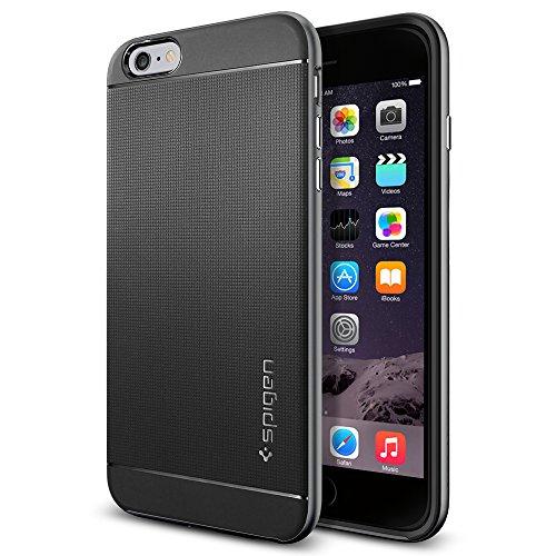 iPhone 6 Plus ケース, Spigen® [ 二重構造 スリム フィット ] ネオ・ハイブリッド Apple iPhone (5.5) アイフォン 6 プラス カバー (国内正規品) (ガンメタル SGP11064)