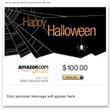 Amazon Gift Card - E-mail - Happy Halloween (Spider)