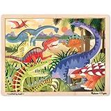 Melissa & Doug Dinosaur Jigsaw Puzzle (24-Piece)