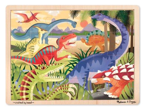 Melissa & Doug Dinosaur Jigsaw Puzzle (24-Piece) - 1