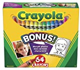 Colored Crayons- Crayons 64Ct From Crayola (Part Number 52-0064)