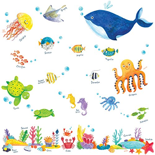 Decowall, DW-1311, Under the Sea Wall Stickers