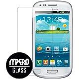 Samsung Galaxy S3 Mini Glass Screen Protector, MPERO Collection Tempered Glass Screen Protector for Samsung Galaxy S III Mini
