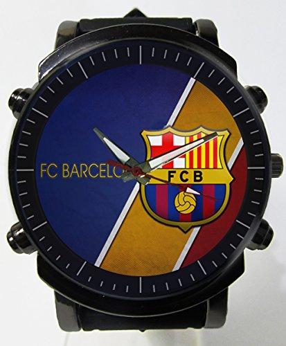 Hot New Awesome Fc Barcelona Logo Custom Printed Sports Wrist Watch