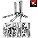 Neiko 60 Pieces Clevis Pin Assortment - SAE