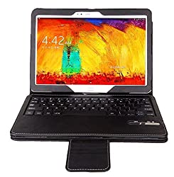 IVSO KeyBook Bluetooth Keyboard Case for Samsung Galaxy Tab Pro 10.1 Tablet with Removable Keyboard(black)