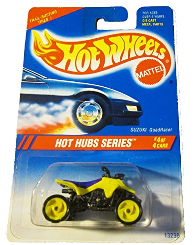 Hot Wheels 1995 Hot Hub Series #4 Suzuki Quadracer - 1
