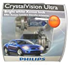 Philips 9003 CrystalVision Ultra Replacement Bulb, (Pack of 2)