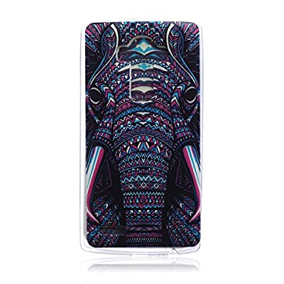LG G4 Case,LG G4 Case Protective SOFT-Interior Scratch Protection Finished Base with Vibrant Trendy Color Slider Style Soft Cases for LG G4 (elephant)