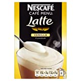 Nescafé Cafe Menu Vanilla Flavour 8 Sachets 148 g (Pack of 6, Total 48 Sachets)