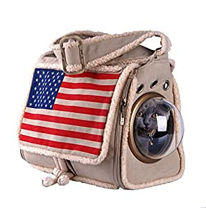 U-pet Innovative Patent Bubble Pet Carriers, Flag