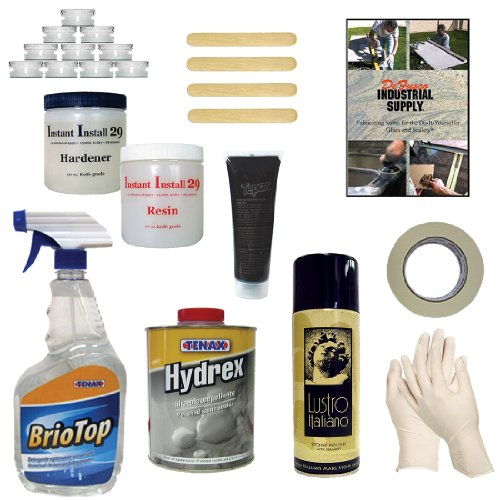 Deluxe Granite & Marble Chip Repair Kit