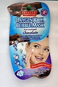 Beauty Formulas Oxygen Rich Bubble Chocolate Mask (Pack of 2)