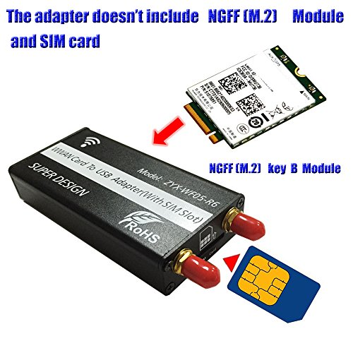 ngffm2-to-usb-adapter-with-sim-card-slot-for-wwan-lte-4g-module