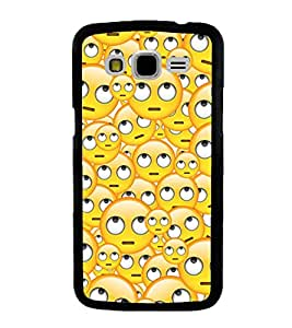 Vizagbeats Shocked Smiley Back Case Cover For Samsung Galaxy J5
