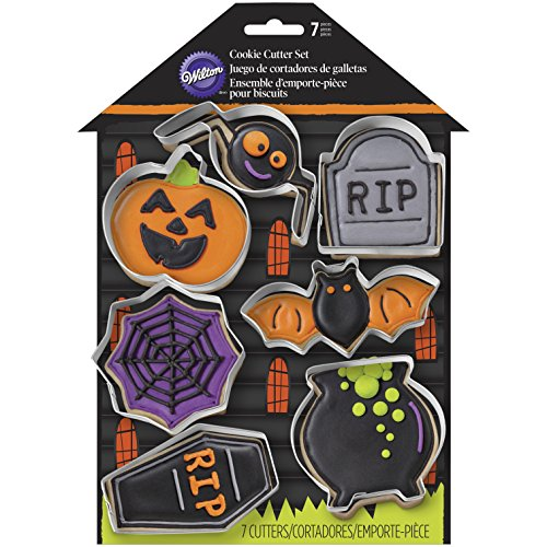 7 Piece Halloween Cookie Cutters