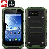 Android Rugged Smartphone Ox II - Android 4.4 OS, MTK6582 Quad Core CPU, IP67 Waterproof + Dust Proof Rating...