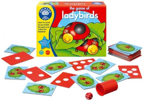 The Game of Ladybirds for Preschoolers
