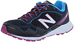 New Balance Women\'s WT910V2 Trail Shoe, Blue/Purple, 8.5 B US
