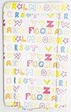 Baby Changing Mat Wacky Alphabet