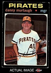 1971 Topps # 437 Danny Murtaugh Pittsburgh Pirates (Baseball Card) Dean's Cards 3 - VG