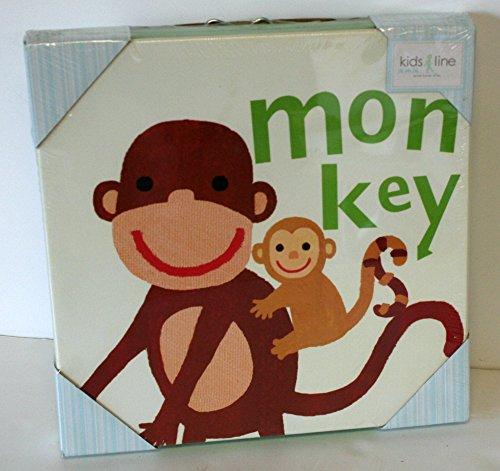 """Canvas Wall Art Monkey 12"""" X 12"""""""