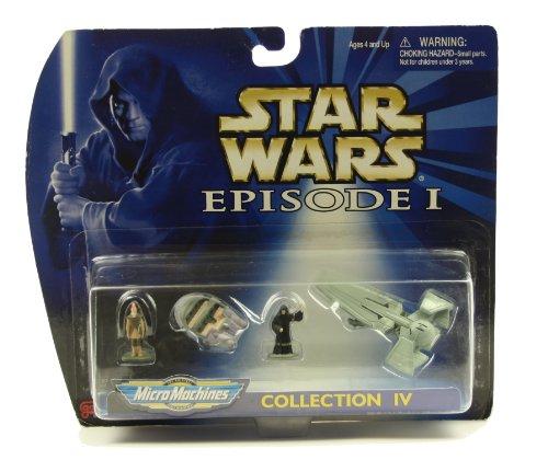 Star Wars Episode I Micro Machines: Coruscant Taxi, Ki-Adi-Mundi, Sith Infilt... - 1