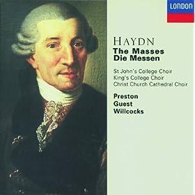 "Haydn: Mass In B Flat, - ""Harmoniemesse"", Hob.Xxii:14 - Benedictus"
