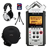 Zoom H4n Handy Recorder Bundle with 16GB SDHC Card, RC-4 Remote, Headphones, Mini Tripod, and Hard Case
