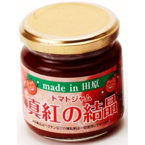 トマトジャム 「真紅の結晶」 200g×2瓶 風雅 生産者が愛情を込めて作ったトマトを使用 湯むきから丁寧に仕上げたジャム トマトの果肉をふんだんに用いて作った甘酸っぱいトマトコンフィチュール