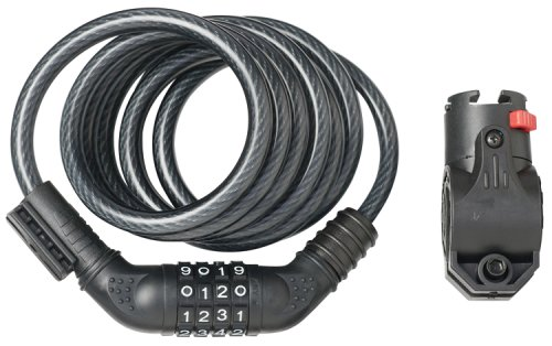 Avenir Coil Combo Cable Locks (10mm / 6 feet)