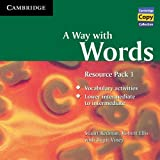 Stuart Redman A Way with Words Resource Pack 1 Audio CD (Cambridge Copy Collection)