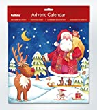 Skiing Santa Advent Calendar