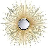 Koehler Home Decor Golden Rays Sunburst Mirror