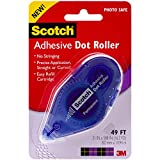 Scotch 055 1/3-Inch by 49-Feet Adhesive Dot Roller