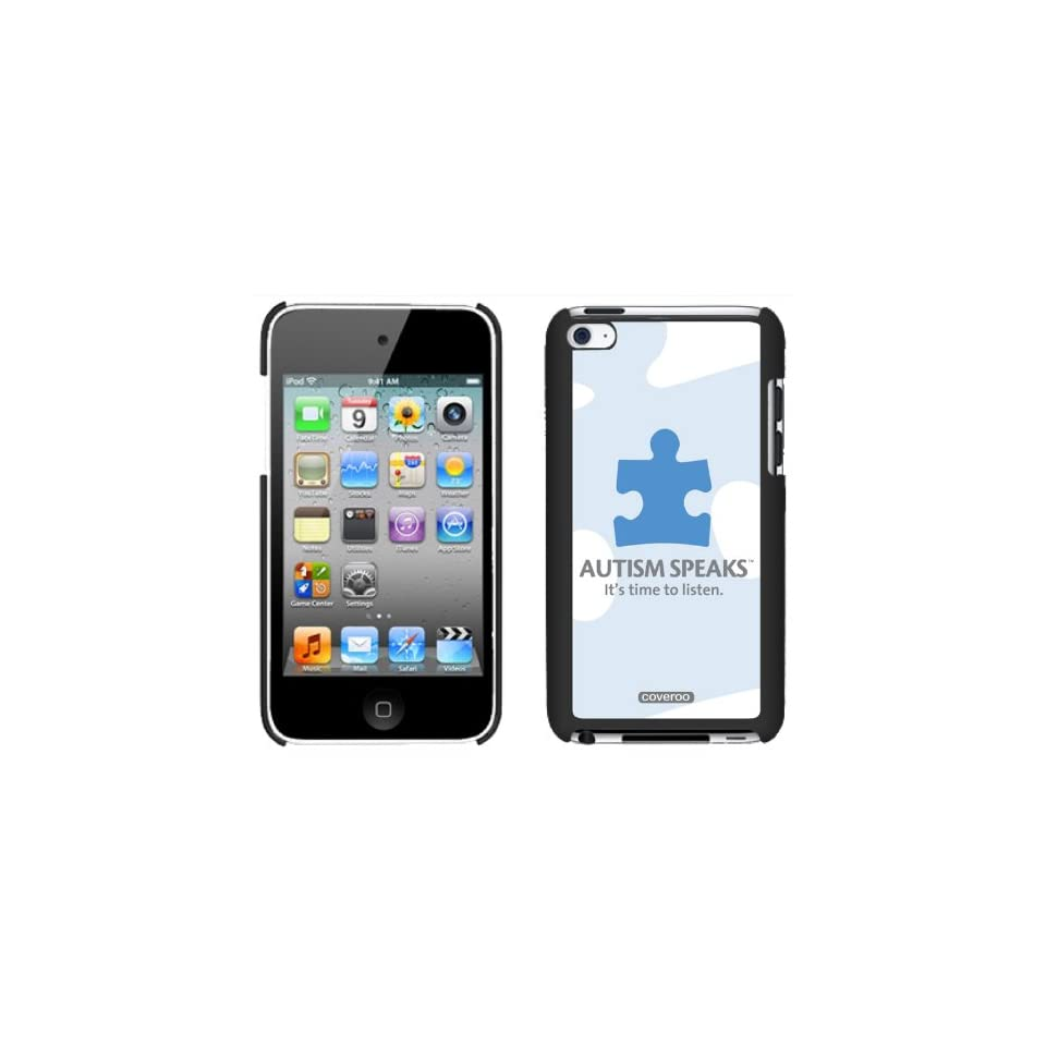 Autism Speaks Puzzle Piece design on iPod Touch Snap On Case by Coveroo